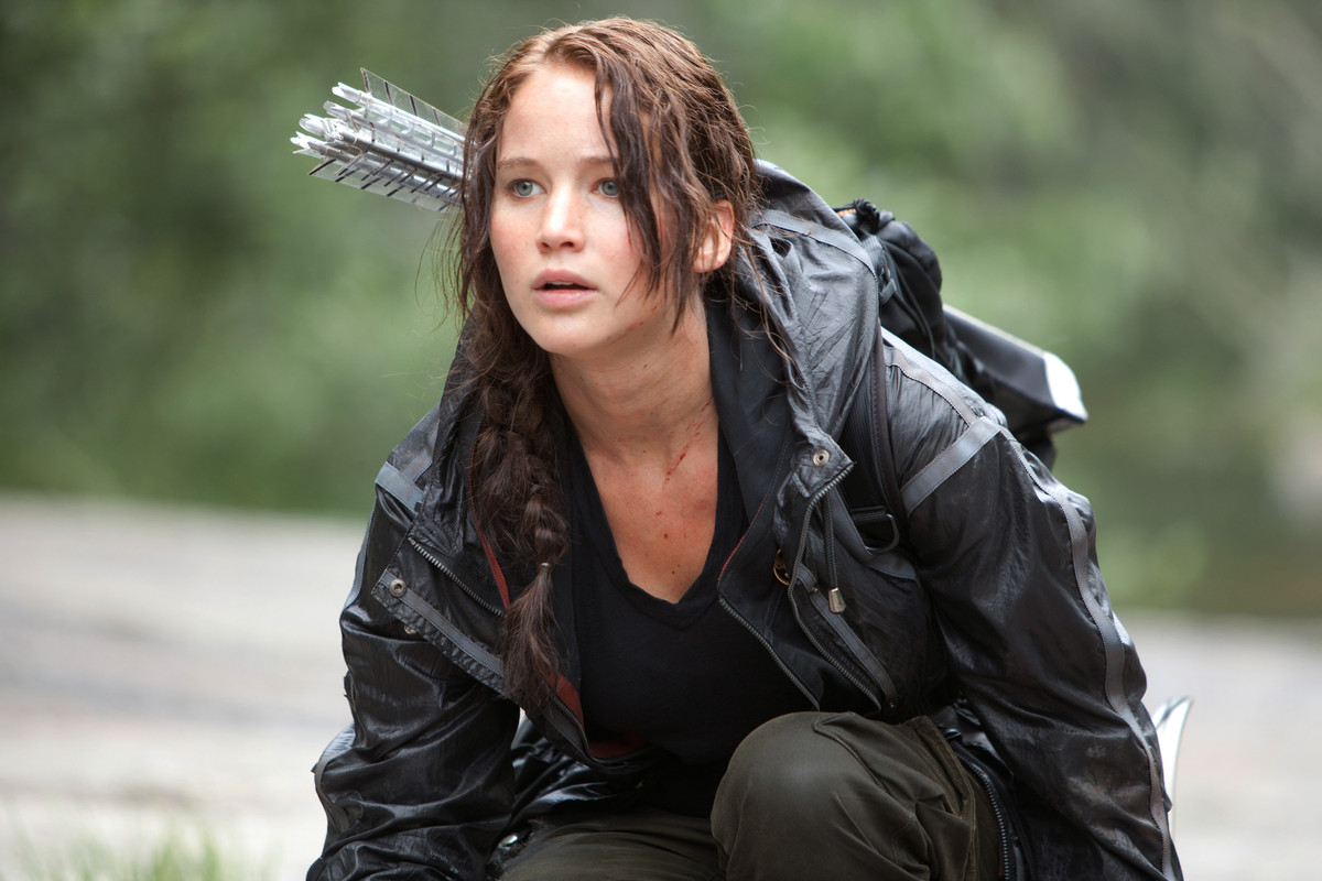 Katniss is the very definition of fierce: she volunteered herself for a dangerous competition to save her family. Awesome, ye