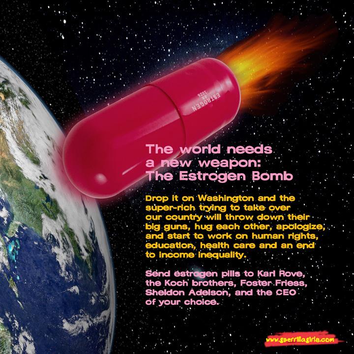 Copyright © Guerrilla Girls. Courtesy www.guerrillagirls.com.