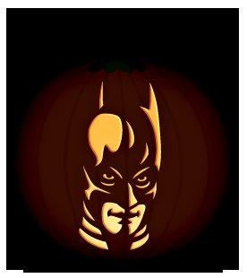 9 free printable pumpkin stencils for a guaranteed for Batman pumpkin carving templates free