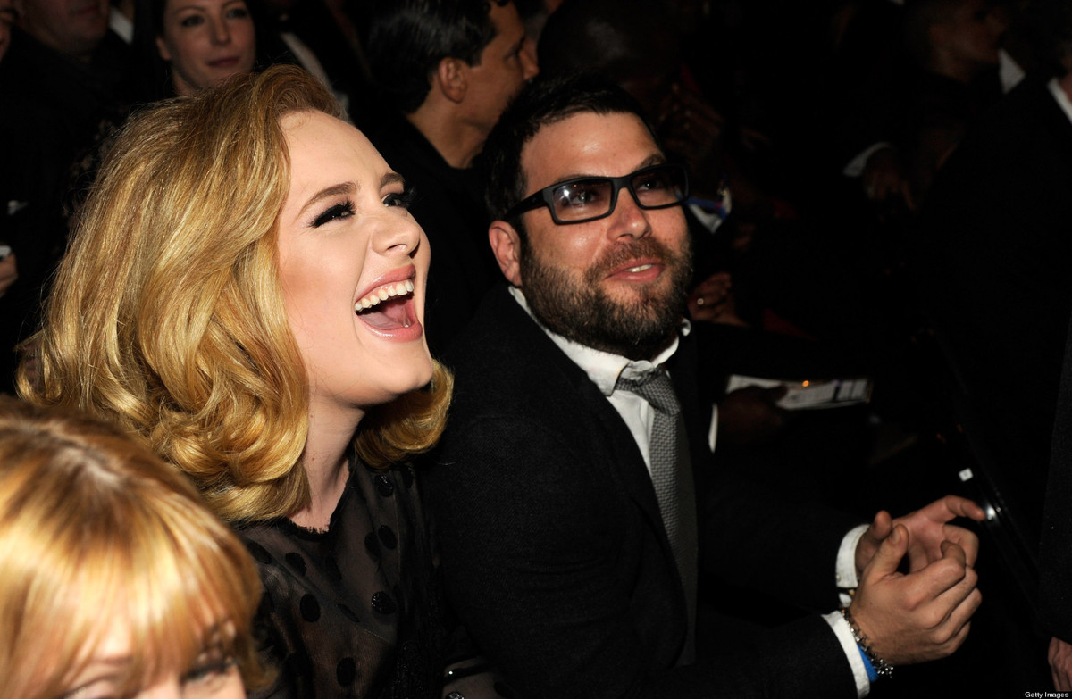 "Adele went public about her romance with <a href=""http://www.usmagazine.com/celebrity-news/news/pregnant-adeles-boyfriend-sim"