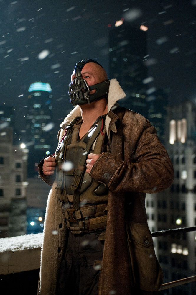 If you are going for approachable creepiness, why not dress up as supervillan Bane -- Not to mention this option will be a lo