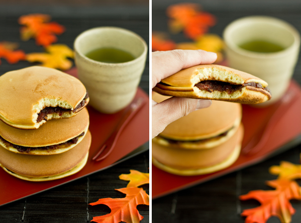 "<strong>Get the <a href=""http://justonecookbook.com/blog/recipes/dorayaki-japanese-red-bean-pancake/"">Dorayaki recipe from Ju"