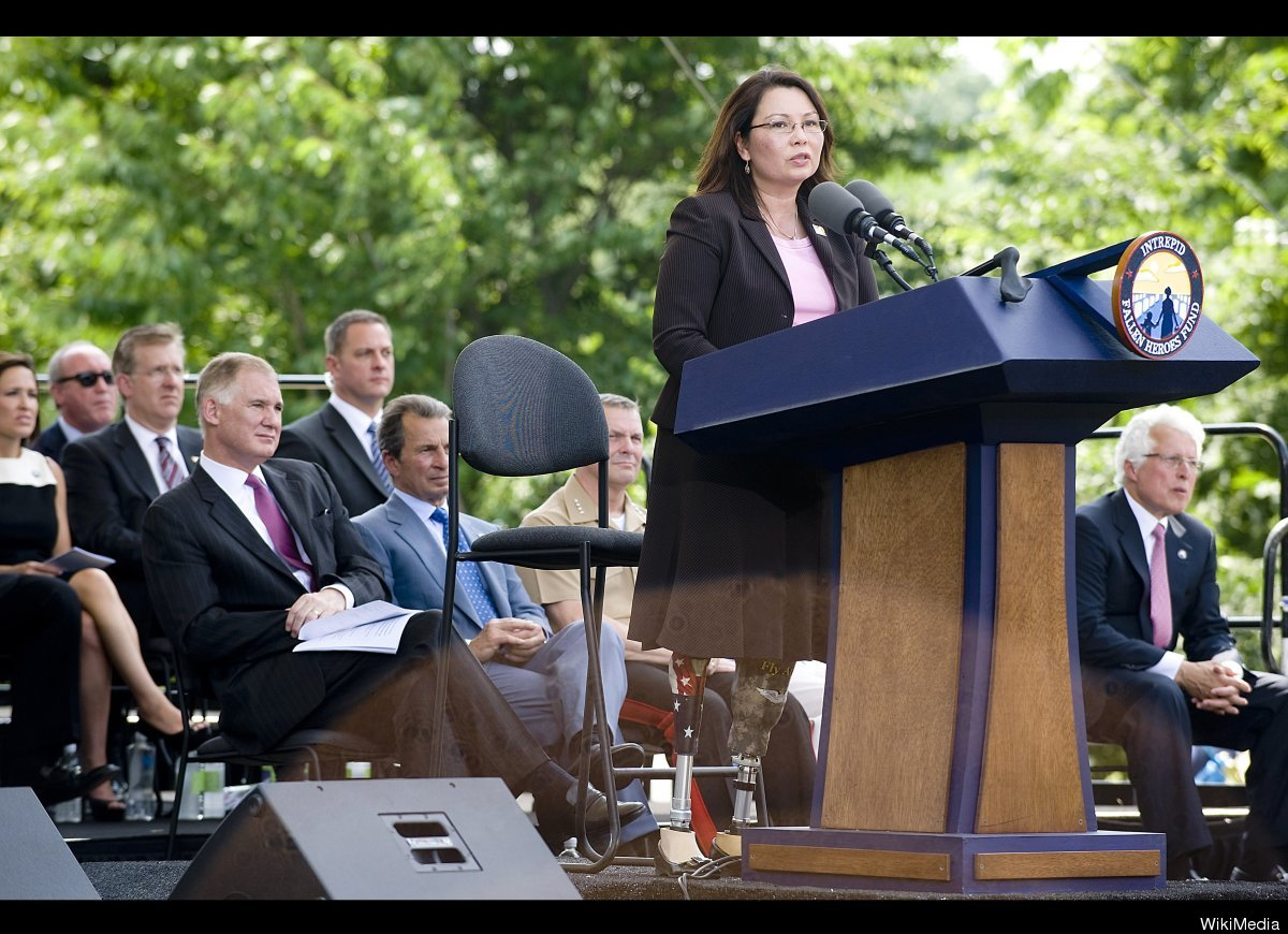 After becoming the first Iraq War veteran in Congress, President Obama appointed Tammy Duckworth (D-Illinois) to assistant se