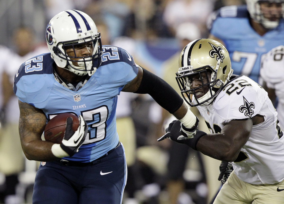 The resurrection of Titans running back Chris Johnson brings fantasy bliss to another Titans running back.  While Johnson is