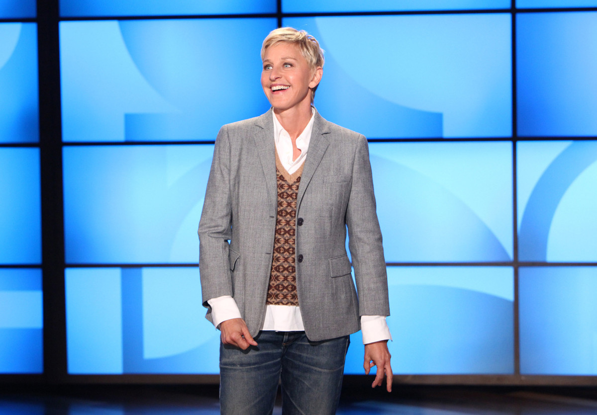"DeGeneres has been hosting ""The Ellen DeGeneres Show,"" since September 2003, making us smile day after day."