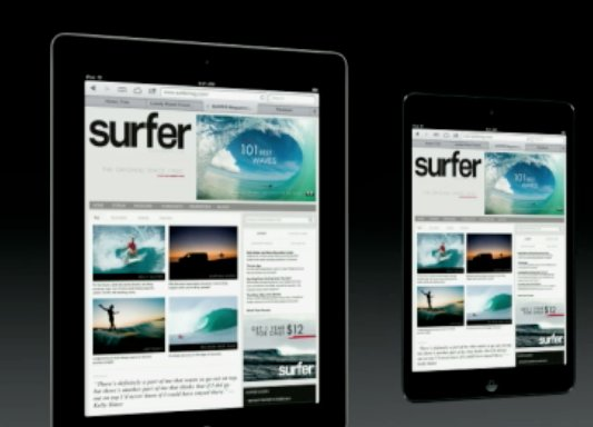 "Let's start with the painfully obvious: Though Apple's Phil Schiller assured us that that ""iPad mini is every inch an iPad"" o"