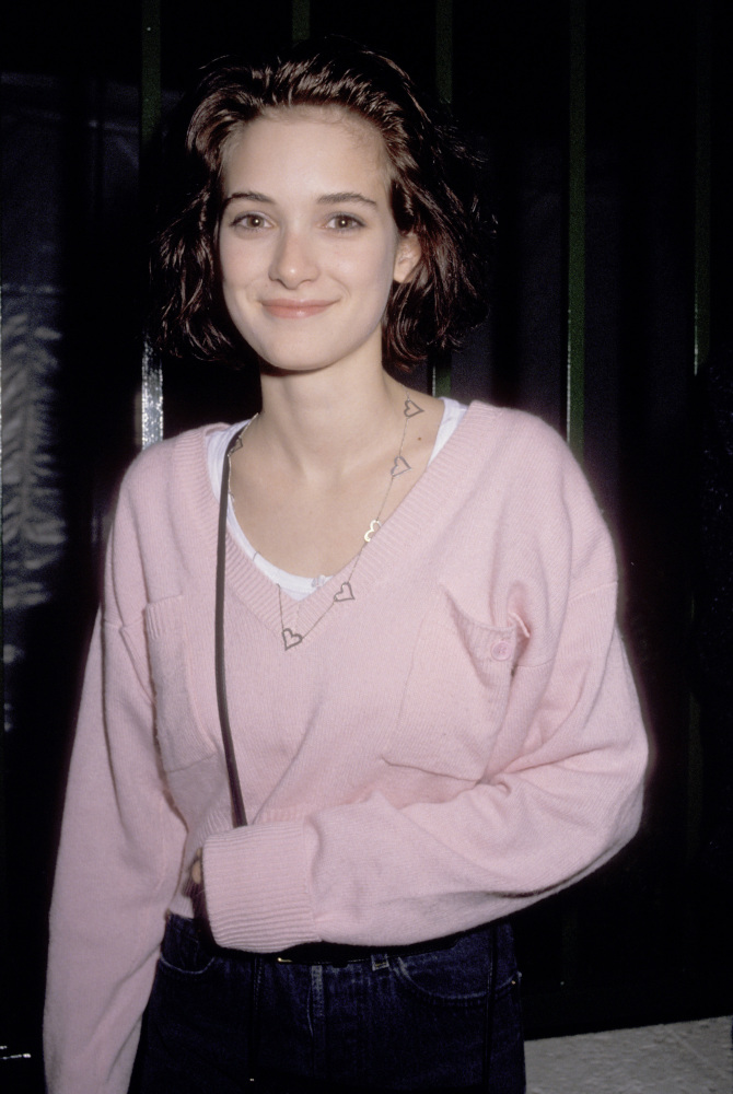 Winona Ryder And Johnny Depp Tattoo Winona Ryder Goes From...