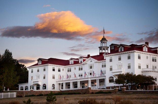 Have you seen The Shining? If so, you might recognise The Stanley in Estes Park, Colorado. Stephen King stayed in this hotel,