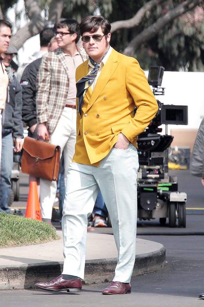 "Rich Sommer on the set of ""Mad Men"" season 6 in Los Angeles."