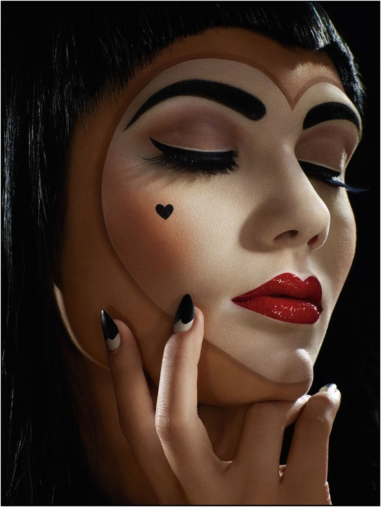 """via <a href=""""http://pinterest.com/pin/175921929165701447/"""">Terri Moore</a>  To recreate this look try: Party City <a href=""""ht"""