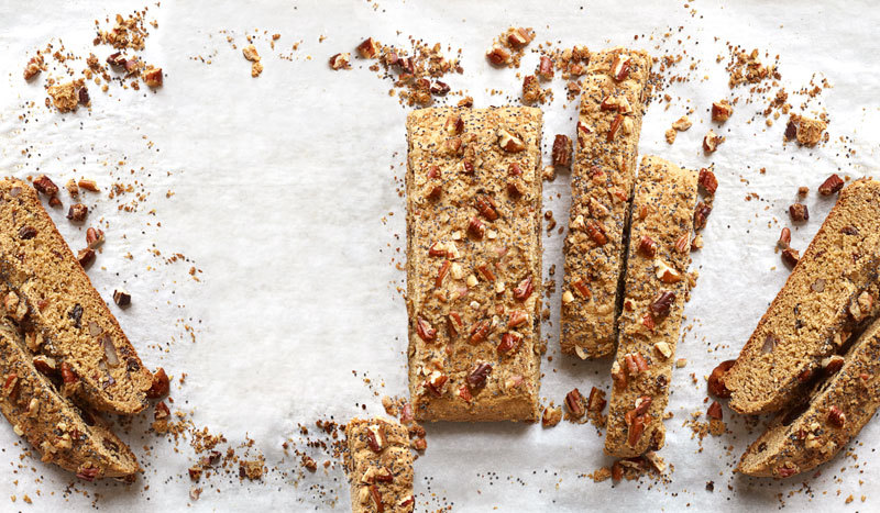"""These on-the-go bars get their crunch from pecans and poppy seeds.  <a href=""""http://www.oprah.com/food/Ricotta-Breakfast-Bars"""