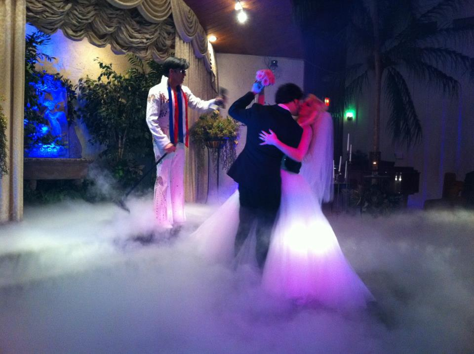 """""""Got married in Vegas by Elvis!"""" Submitted by Candice Dale"""