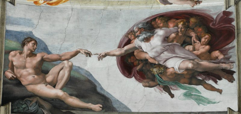 Sistine Chapel 1508-1512 Wikimedia Commons