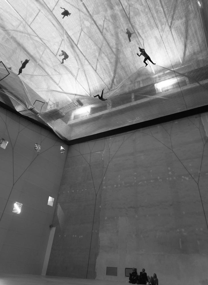 On Space Time Foam, 2012 Immagini dell'installazione in HangarBicocca   Photo: Alessandro Coco