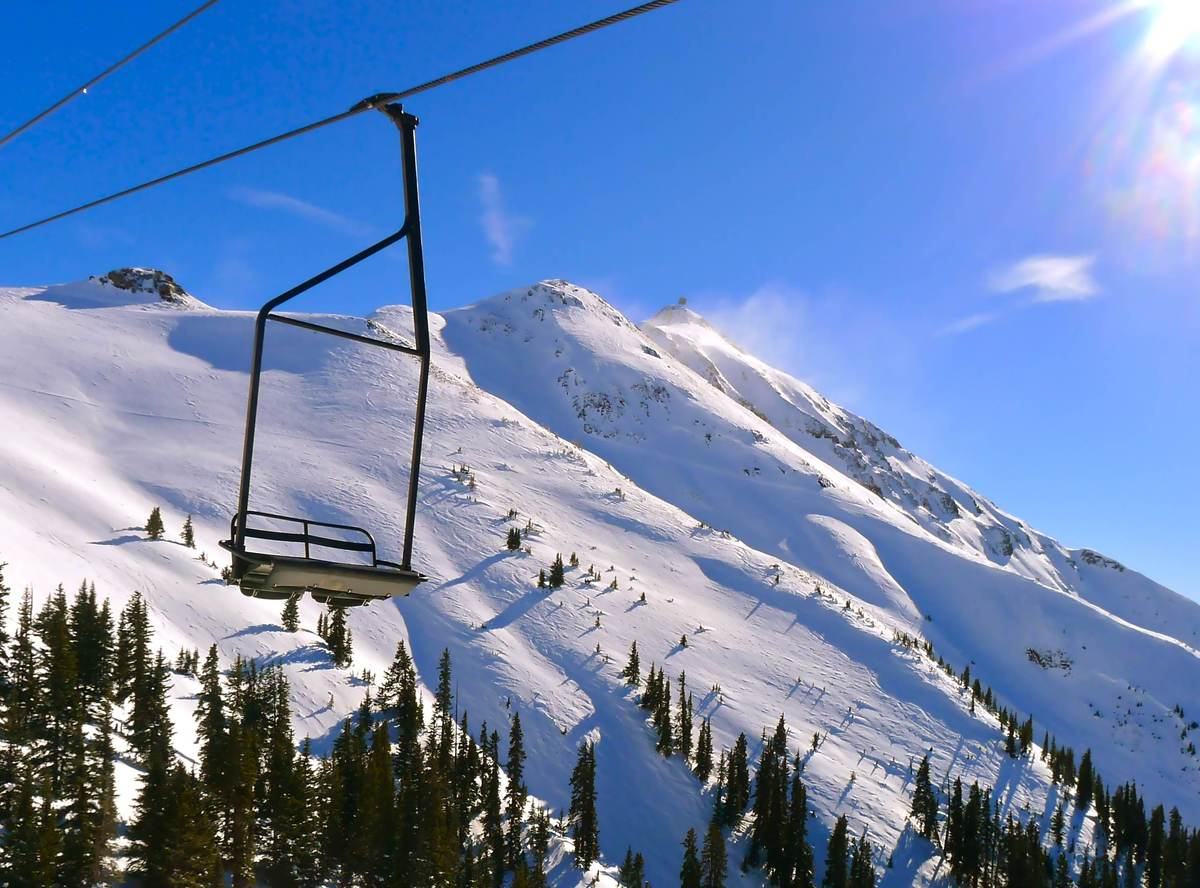 "The chair at<a href=""http://www.liftopia.com/ski-resort-info/resort/303387/CO/Silverton-Mountain.htm"" target=""_hplink""> Silve"