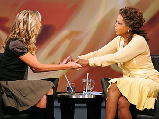 "<a href=""http://www.oprah.com/oprahshow/Howd-They-Do-That/2"">Oprah endorsed Sara Blakely's young company, Spanx, on her show"