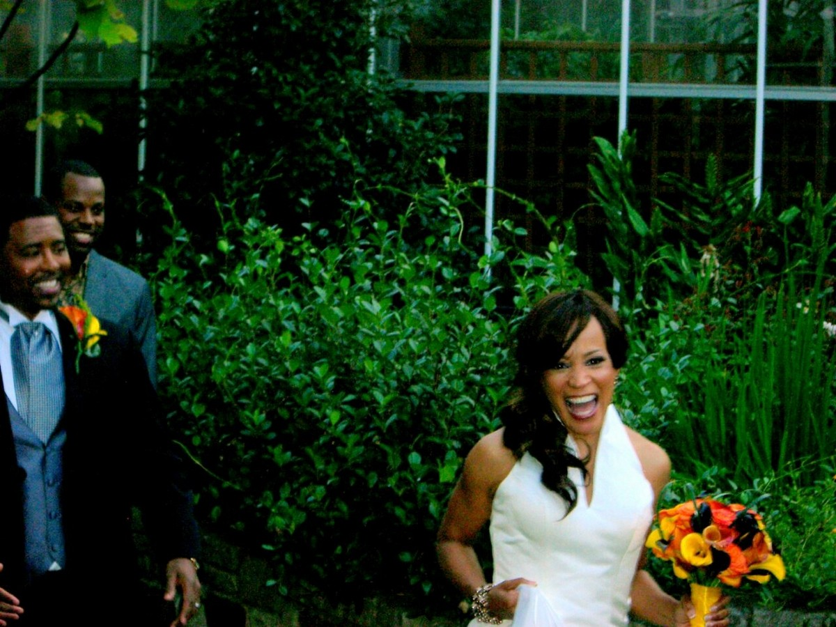 Meet Mr. and Mrs. Thomas Wilson! October 13th @ the Atlanta Botanical Gardens.