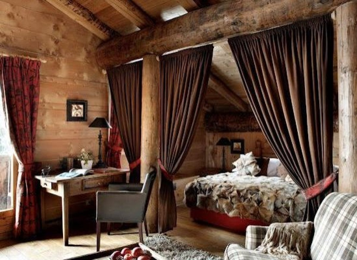 """Les Fermes de Marie is a French luxury hotel in Rough Luxe style. See more <a href=""""http://clippings.com/clippings/22081"""" tar"""