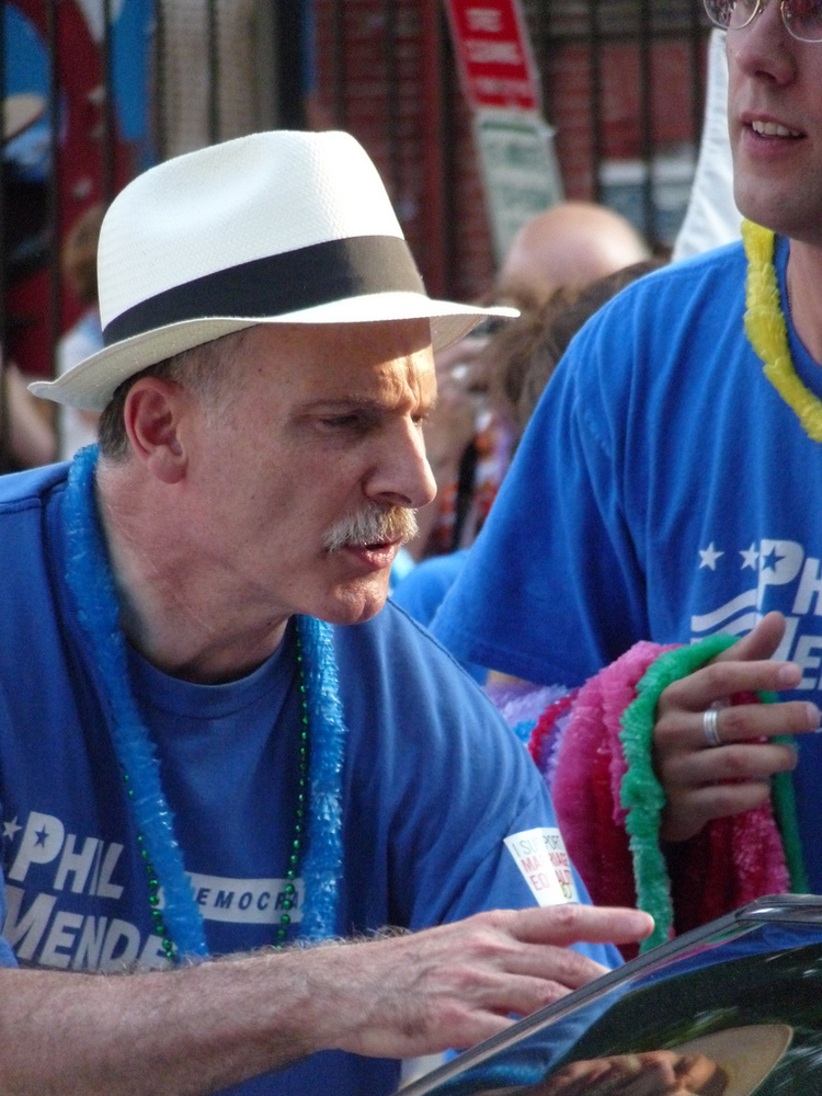 <strong>Phil Mendelson</strong> (D), seen here during his 2010 re-election campaign to an At-Large seat on the D.C. Council,