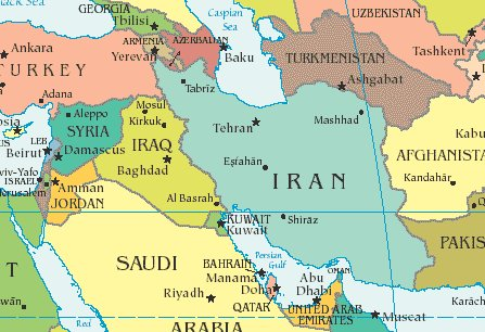"""""""Syria is Iran's only ally in the Arab world. It's their route to the sea, """" Romney said <a href=""""http://www.huffingtonpost.c"""