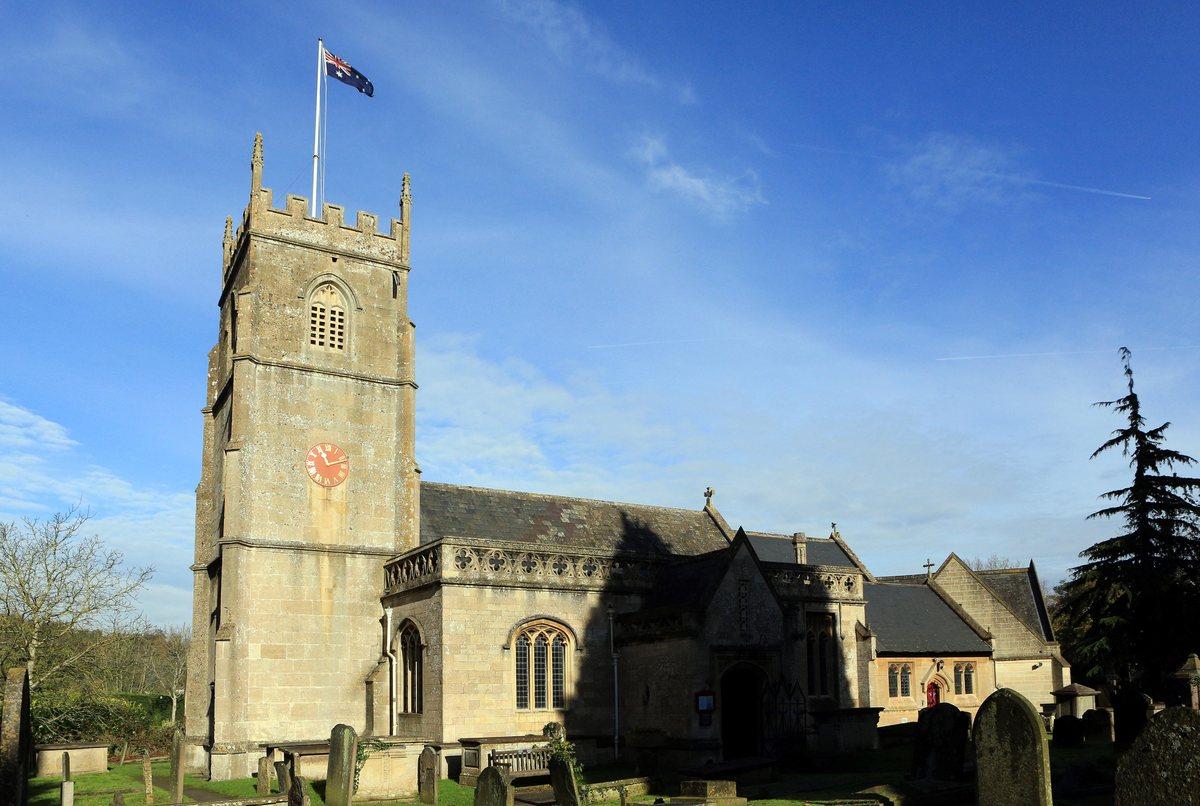 St Nicholas Church, Bathampton, where the dramatic hour-long rescue took place