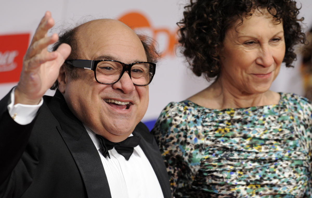 "After 30 years of marriage, Danny DeVito, 67, and Rhea Perlman, 64, <a href=""http://www.people.com/people/article/0,,20637106"