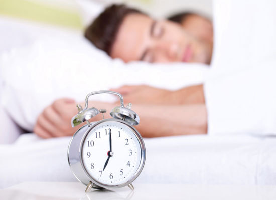 "Our sleep cycles are regulated by the ""circadian clock"" in our brains.  By maintaining a regular bedtime and wake time -- eve"
