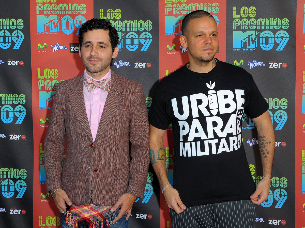 Visitante y Residente de 'Calle 13' en 'Los Premios MTV 2009' (Octubre 15, 2009 en Universal City, California) (Photo by Jaso