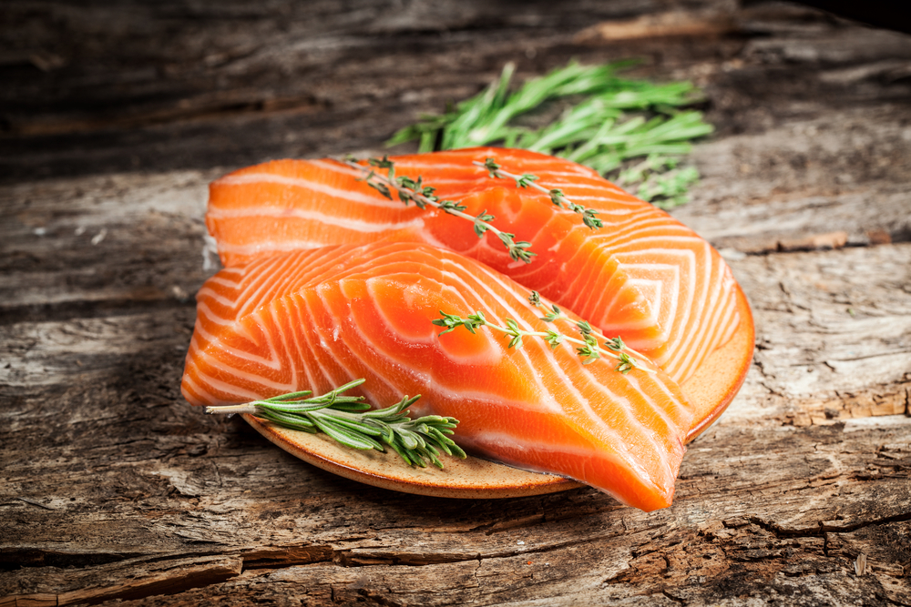 Fish is a great source of essential fatty acids like omega-3 and omega-6, says Rachelle Wood, registered holistic nutritionis