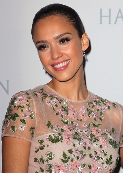 """Actress Jessica Alba attended the 1st Annual Baby2Baby Gala, an organization which she serves as a board member, with a """"Pret"""