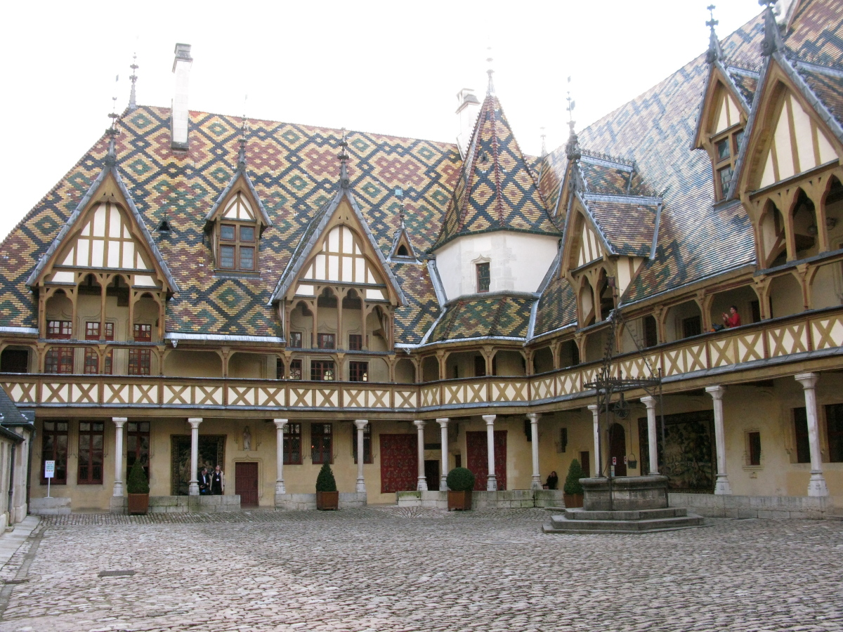 No longer used as a hospital, the iconic Hospice de Beaune is the center of attention on the third Sunday of November.