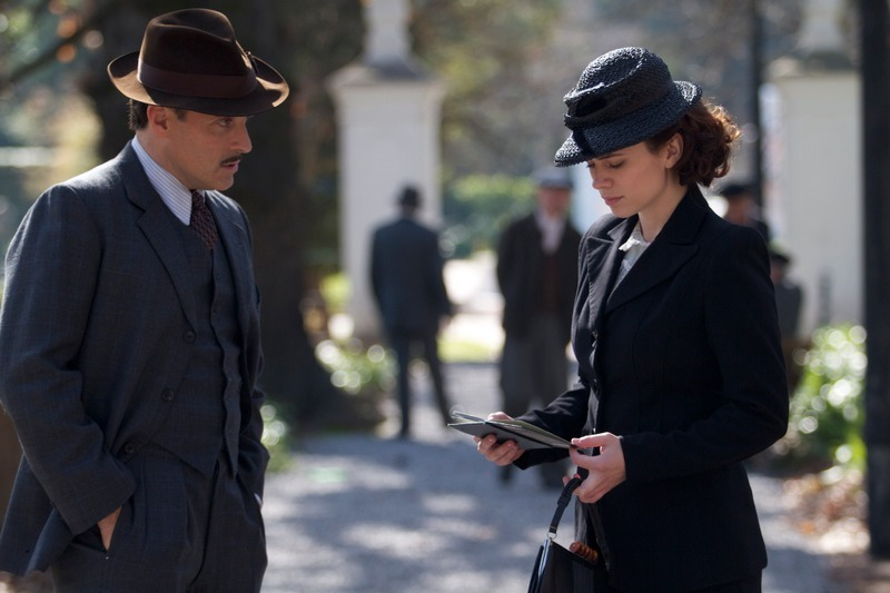 """Rufus Sewell and Hayley Atwell star in""""Restless,"""" Sundance Channel's original miniseries, premiering December 7th at 9pm ET/P"""