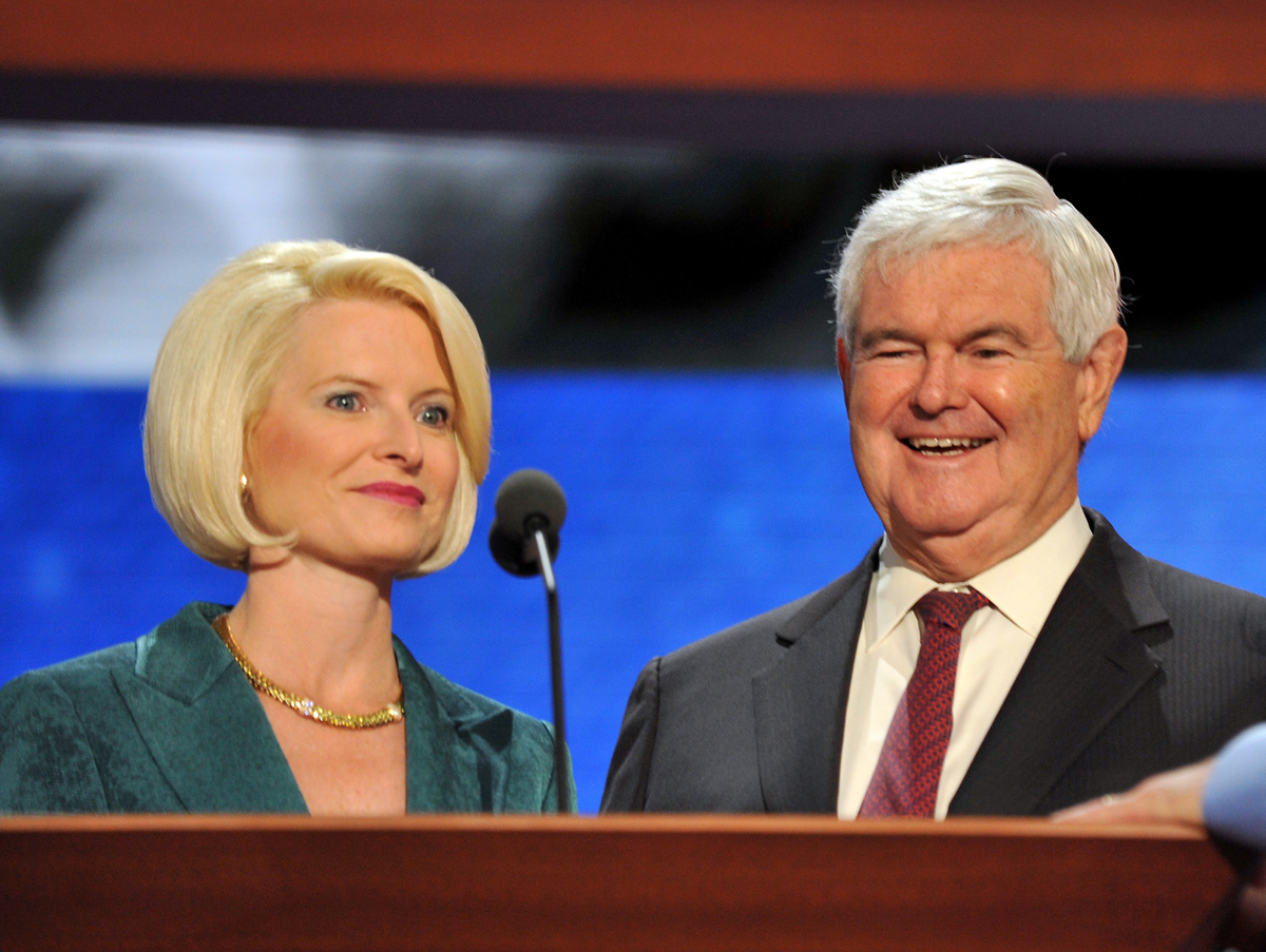 "Former Republican presidential hopeful Newt Gingrich <a href=""http://abcnews.go.com/Politics/story?id=2937633&page=1#.UJ2MMuO"