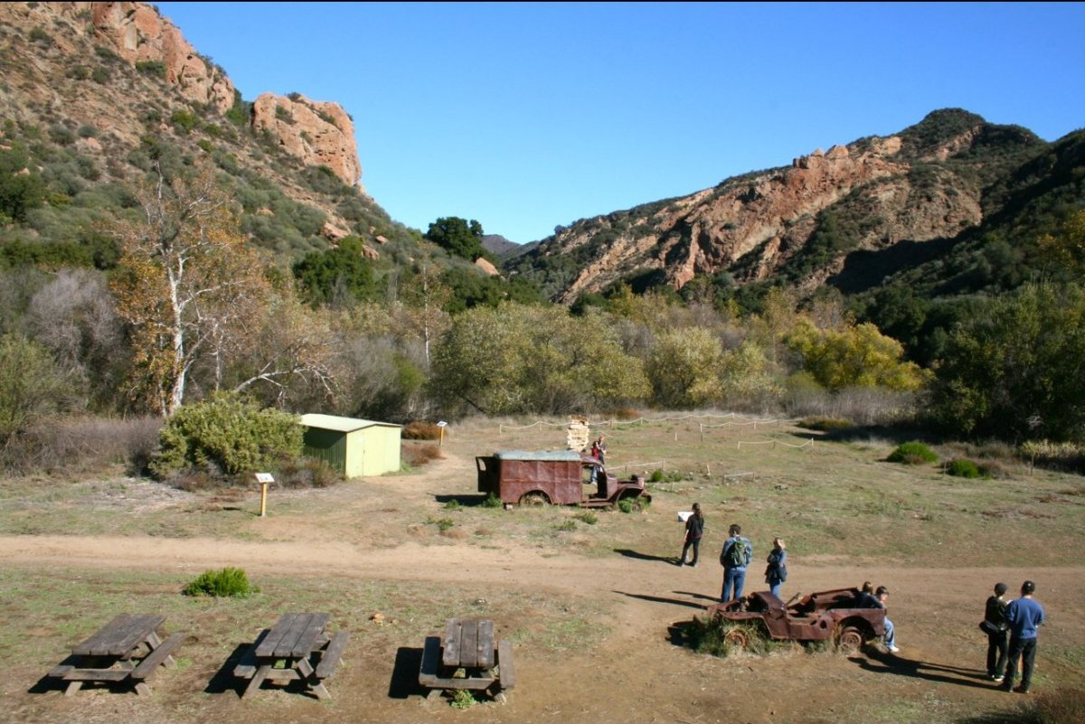 It's a straight shot from the main parking lot to the <em>M*A*S*H</em> site, where you can have a picnic and explore the memo