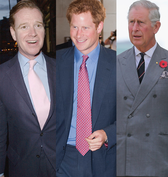 The gossip mill has buzzed for decades that Prince Harry's father is not Prince Charles, but James Hewitt, the red-headed gen