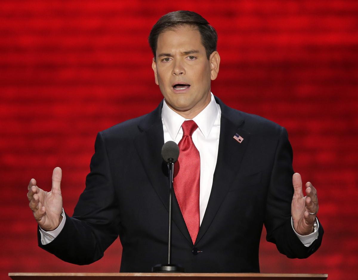 """He's been quiet since the election, but it's clear the <a href=""""http://www.usatoday.com/story/news/politics/2012/11/10/rubio-"""