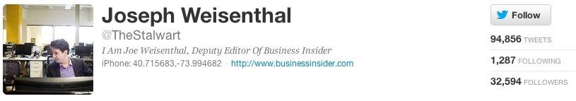 """<a href=""""https://twitter.com/TheStalwart"""">Joe Weisenthal</a>, deputy editor of Business Insider, <a href=""""http://www.nytimes."""