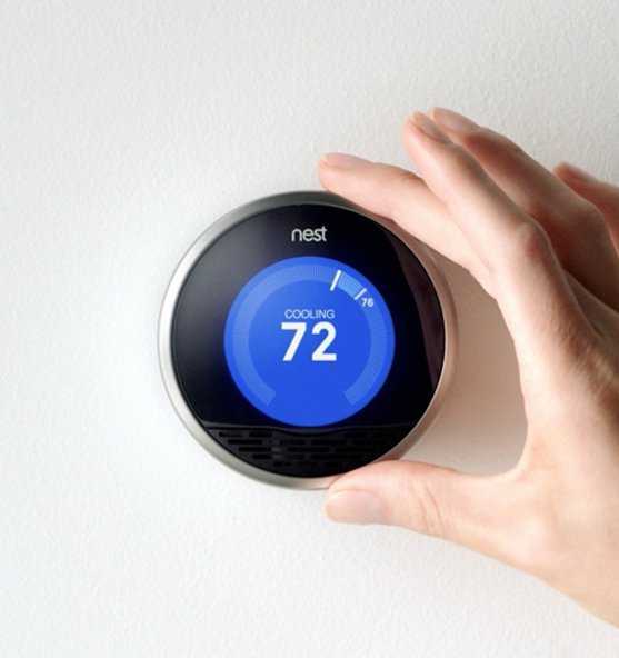 "This smart thermostat will remember their daily routine and adjusts the temperature accordingly to save energy. At <a href=""h"