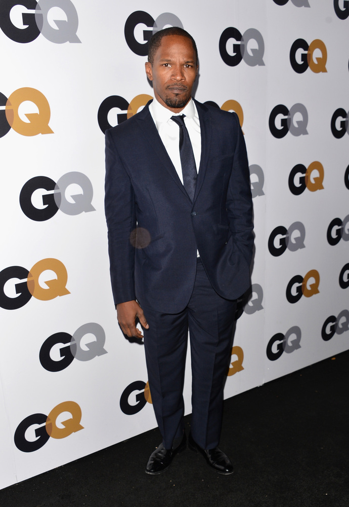 LOS ANGELES, CA - NOVEMBER 13:  Actor-musician Jamie Foxx arrives at the GQ Men of the Year Party at Chateau Marmont on Novem