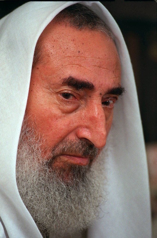 "In September 2003, the Israeli army <a href=""http://news.bbc.co.uk/2/hi/middle_east/1695470.stm"">attempted to kill</a> Sheikh"