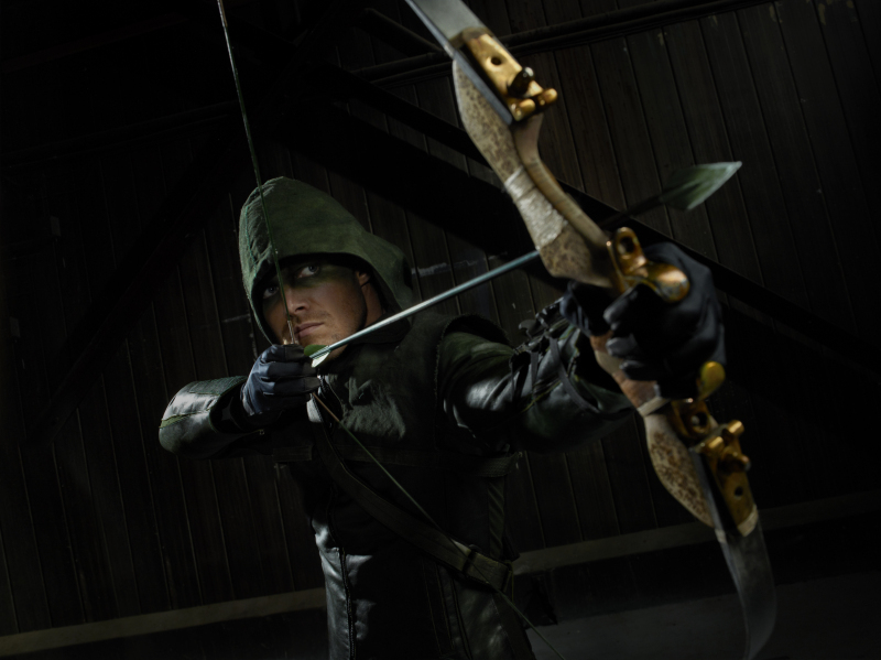 """In a lackluster crop of new pilots, """"Arrow"""" immediately stood out to me -- both because I'm a huge comic book nerd and becaus"""