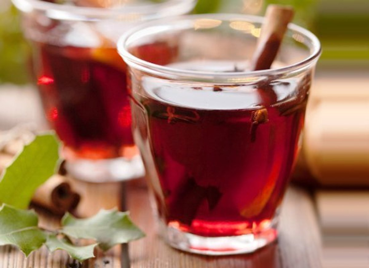 Forgot about the drinks? Don't fret: You probably already have most of the ingredients on hand for this simple recipe from Li