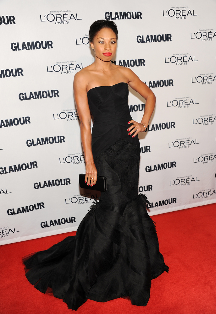 "Olympic gold medal sprinter Allyson Felix attends Glamour Magazine's 22nd annual ""Women of the Year Awards"" at Carnegie Hall"