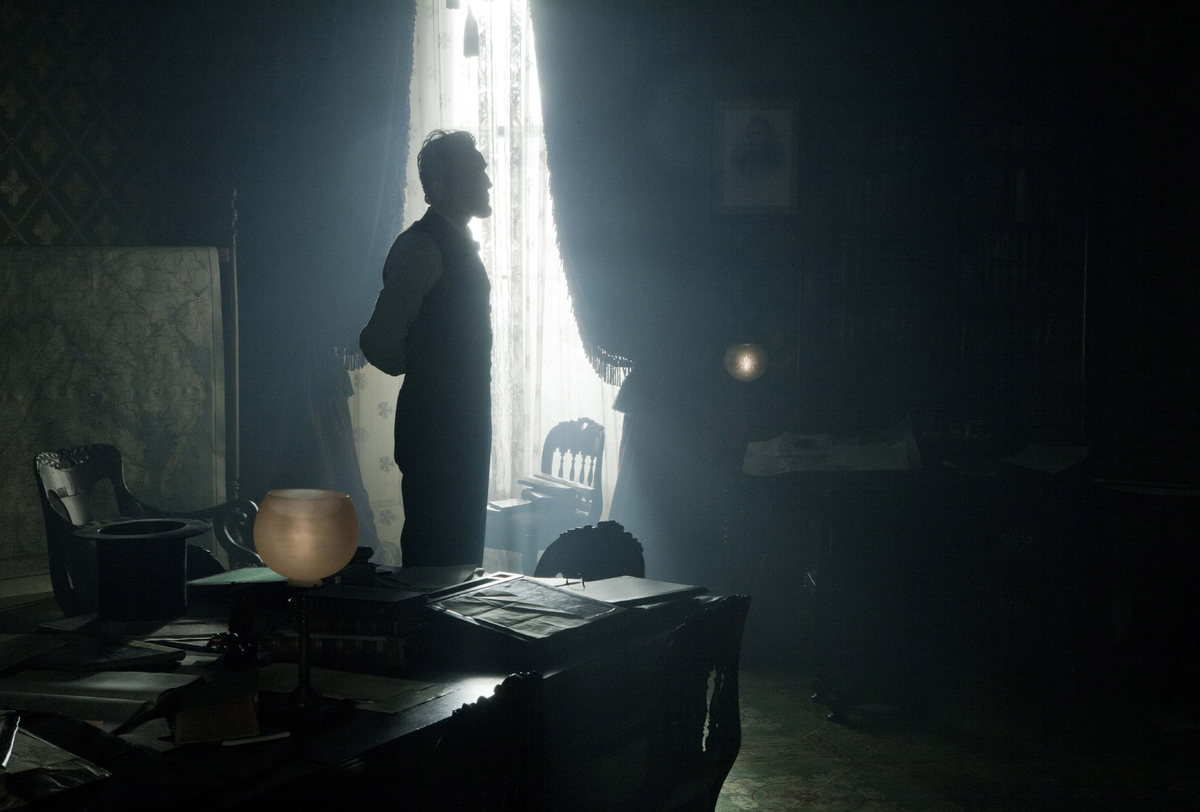 "Daniel Day-Lewis in a scene from director Steven Spielberg's drama ""Lincoln."""