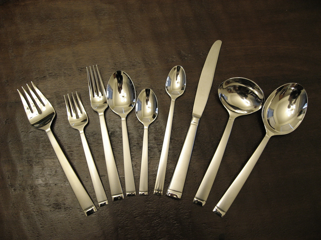 Make sure your silverware is clean and shiny before your big feast. Instead of using a chemical cleaner, try this all-natural