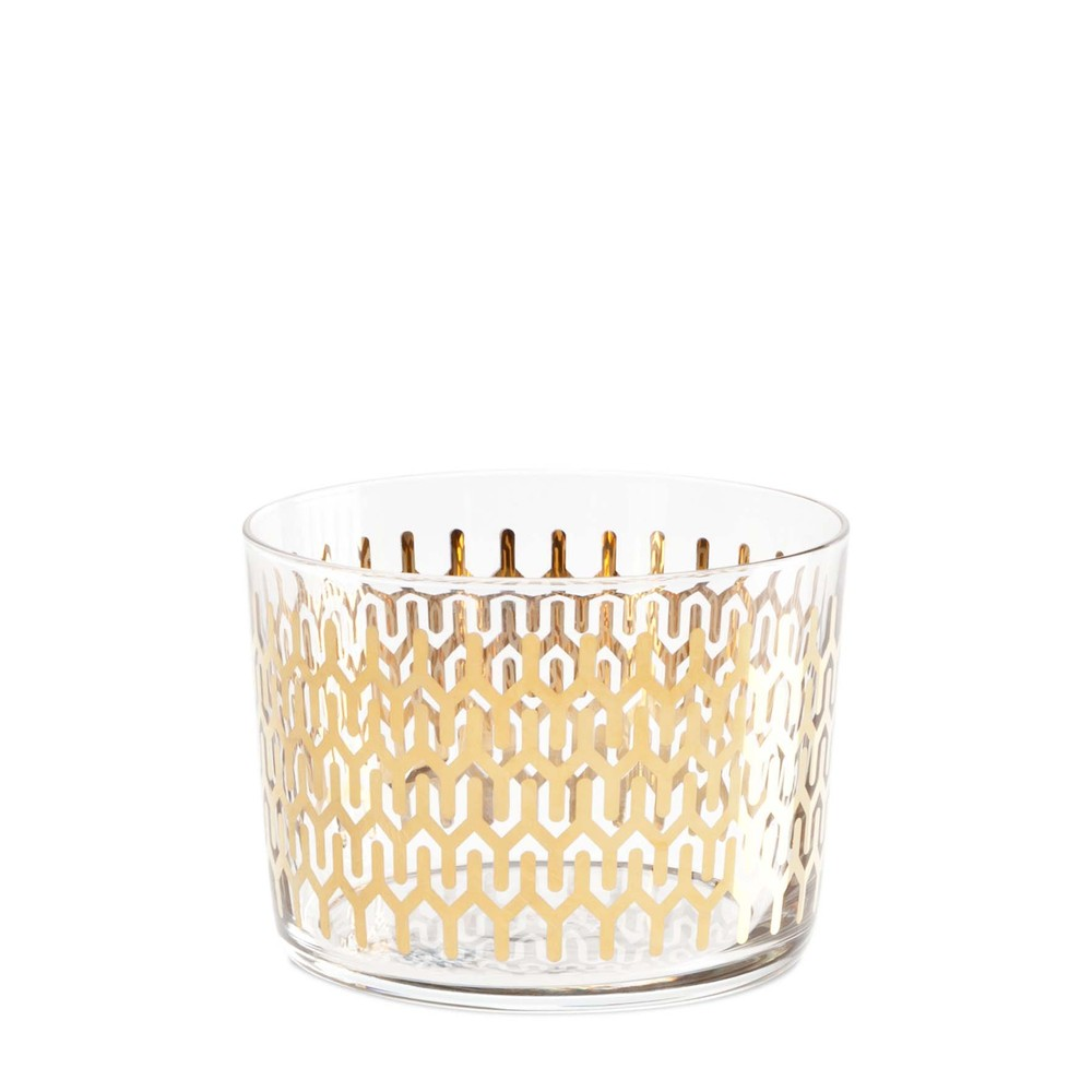 """Petite glassware without stems is perfect for passing dishes, spill-free, during <a href=""""http://www.huffingtonpost.com/2012/"""