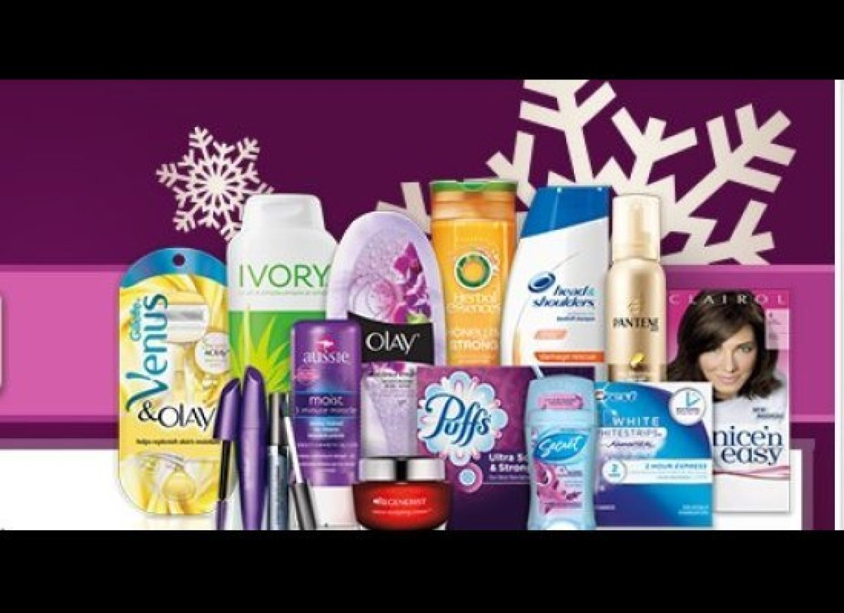 Now through December 31, you can receive a $15 rebate when you spend $50 on P&G beauty brands (such as CoverGirl, Pantene, Cl