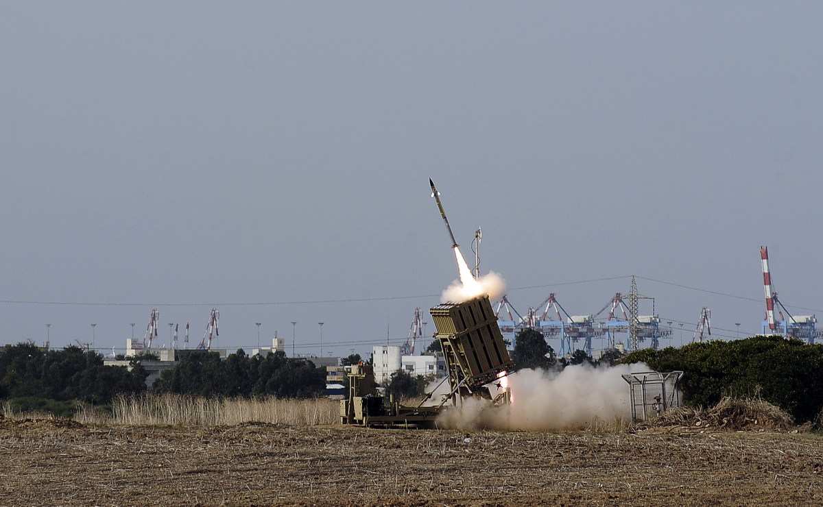 Produced by Israeli-based Rafael Advanced Defense Systems, Iron Dome is meant to shoot down rockets and artillery shells with