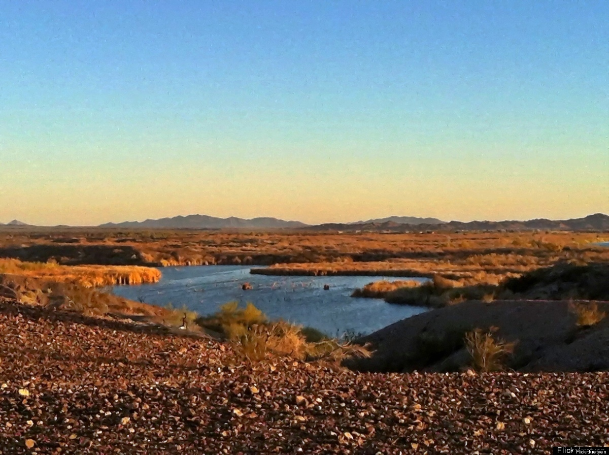 With the sun shining for over 90 percent of daylight hours, Yuma is the place to go for clear skies and a Vitamin D fix. It's