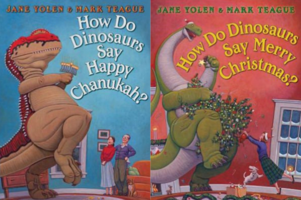 "I think there is something really funny about dinosaurs and <a href=""http://www.barnesandnoble.com/w/how-do-dinosaurs-say-mer"